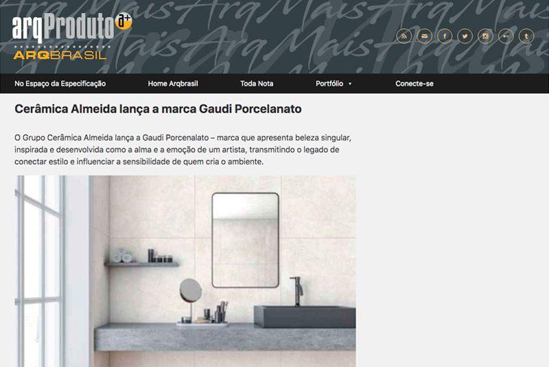 Matéria do portal Arq Brasil